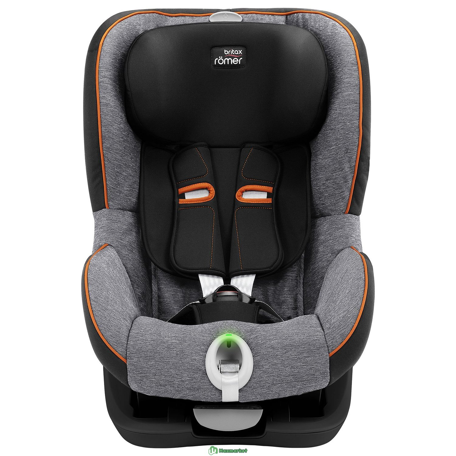Автокресло Britax Roemer King II LS Black Series Black Marble Highline