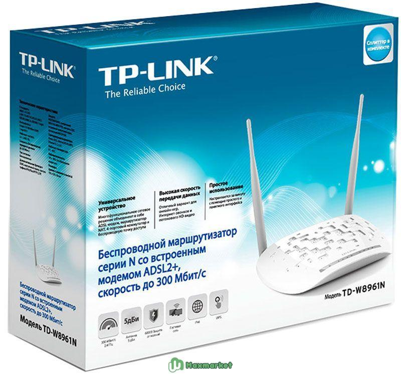 TP-Link TD-W8961N маршрутизатор
