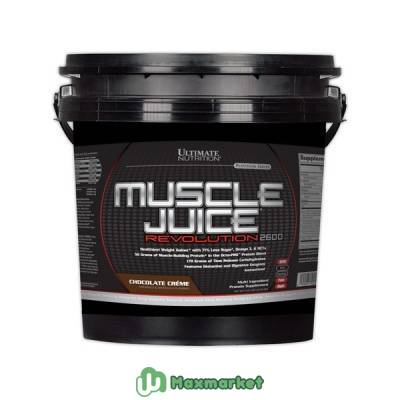 Гейнеры Muscle Juice Revolution 2600 5000 гр Шоколад