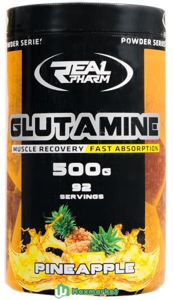 Real Pharm Glutamine 500g (Аргинин и Глютамин)