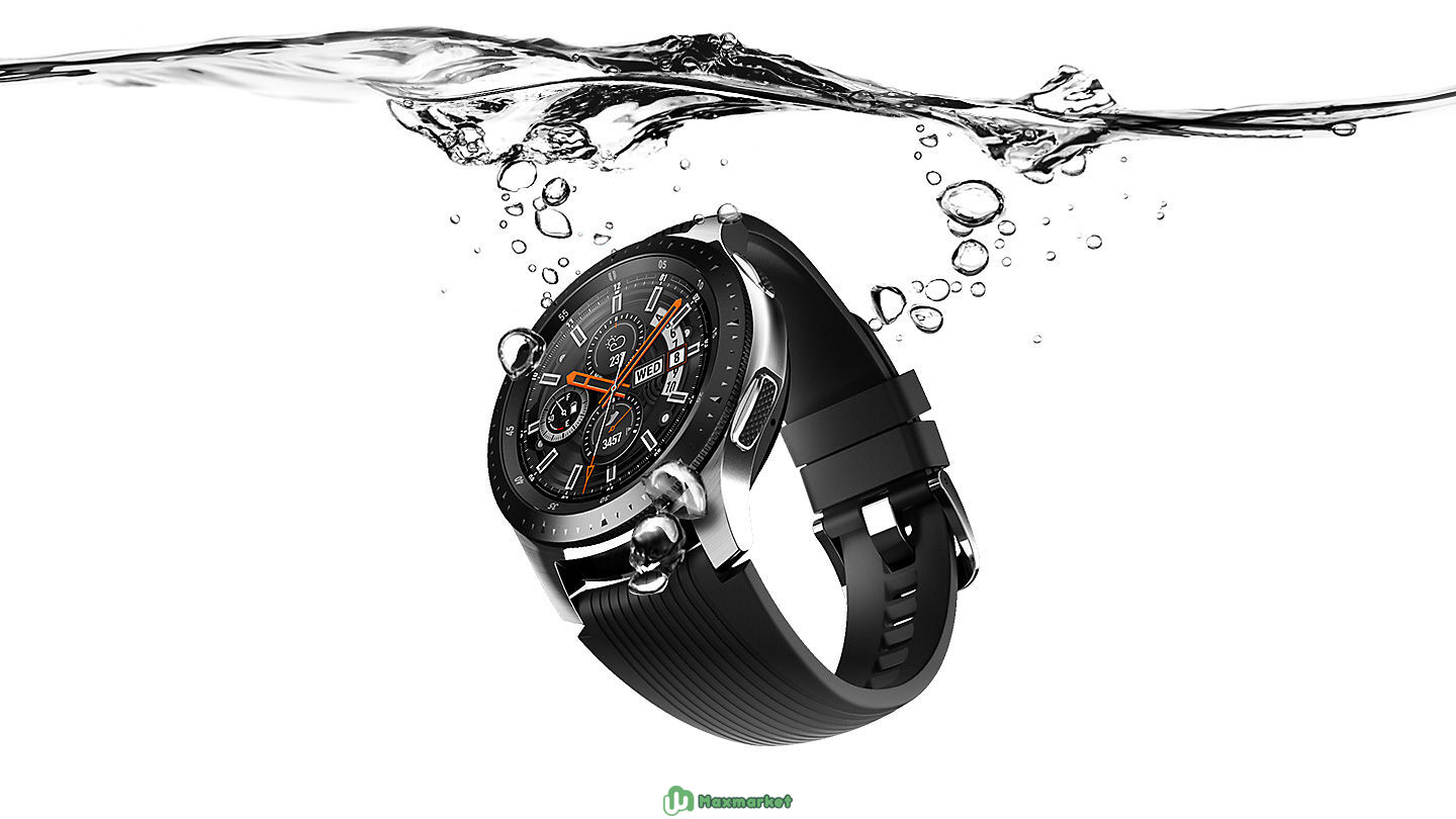 Умные часы Samsung Galaxy Watch 46mm Silver Steel SM-R800NZSASER